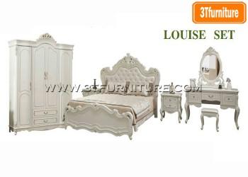 ชุดห้องนอน Louise Set1