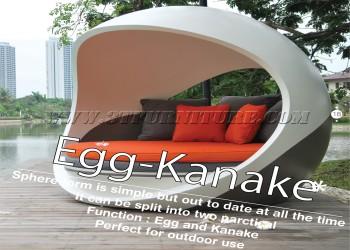 โดมไฟเบอร์กลาส Egg Kanake
