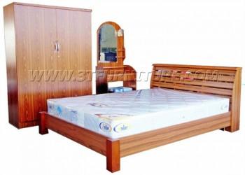 ชุดห้องนอนโครงการ Bed Set02