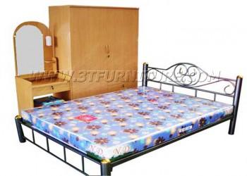 ชุดห้องนอนโครงการ เตียงเหล็ก