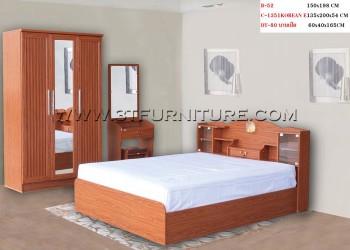 ชุดห้องนอนโครงการ Bed Set03
