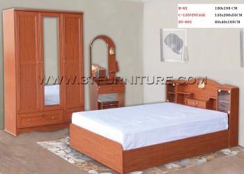 ชุดห้องนอนโครงการ Bed Set04