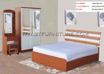 ชุดห้องนอนโครงการ Bed Set07