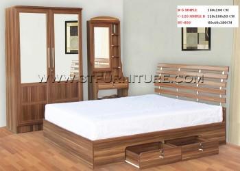 ชุดห้องนอนโครงการ Bed Set10