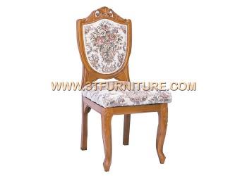 เก้าอี้ชุดรับแขกไม้สัก ลูกข่างแคทลียา