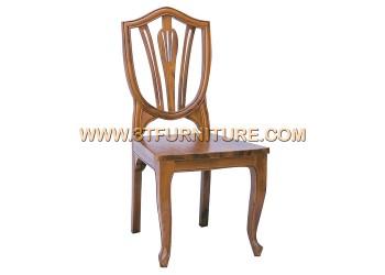 เก้าอี้ชุดรับแขกไม้สัก ลูกข่างไม้พื้นไม้จริง