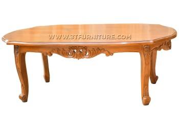 โต๊ะกลางไม้สักหลุยส์วีนัส