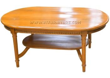 โต๊ะกลางไม้สักหลุยส์วิโรจน์